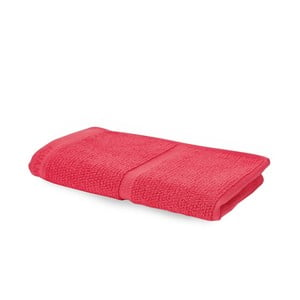 Koralowo-czerwony ręcznik Aquanova Adagio, 30x50 cm