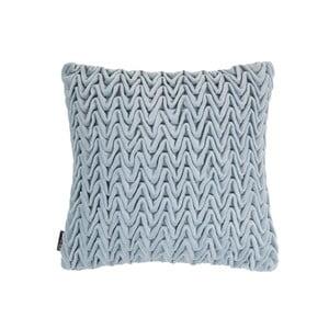 Niebieska poduszka ZicZac Waves, 45x45 cm