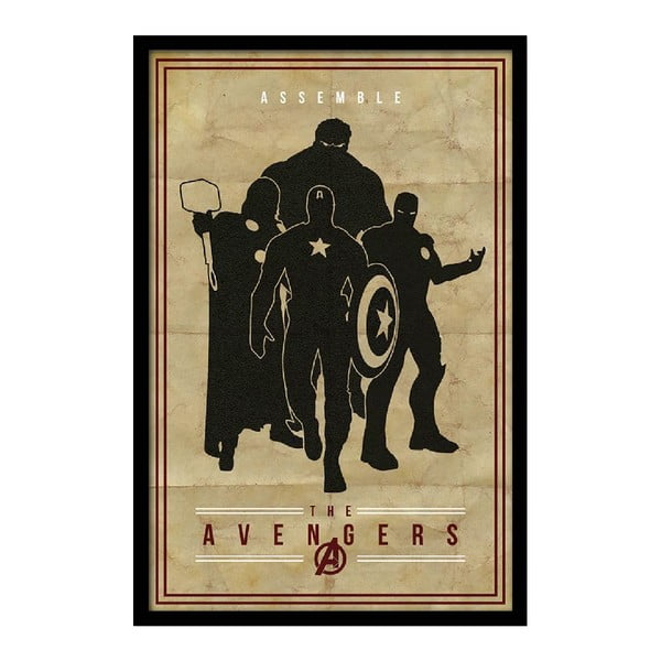 Plakat The Avengers, 35x30 cm