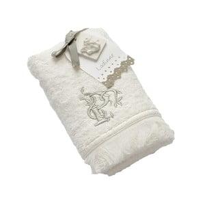 Ręcznik z inicjałem P, 30x50 cm