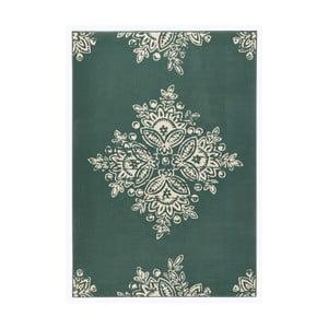 Zielony dywan Hanse Home Gloria Blossom, 80x150 cm