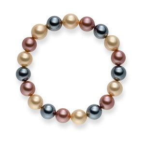 Bransoletka Nova Pearls Copenhagen Renee Ivory, 19 cm