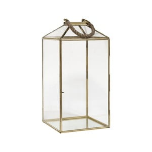 Lampion Rope Brass, 50 cm