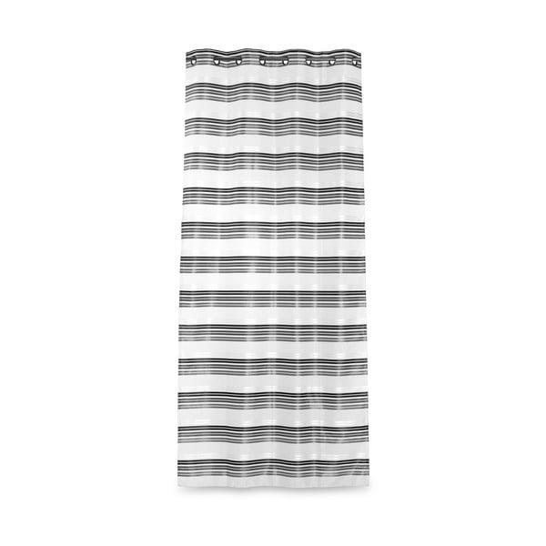Zasłona Isa Silver, 135x270 cm