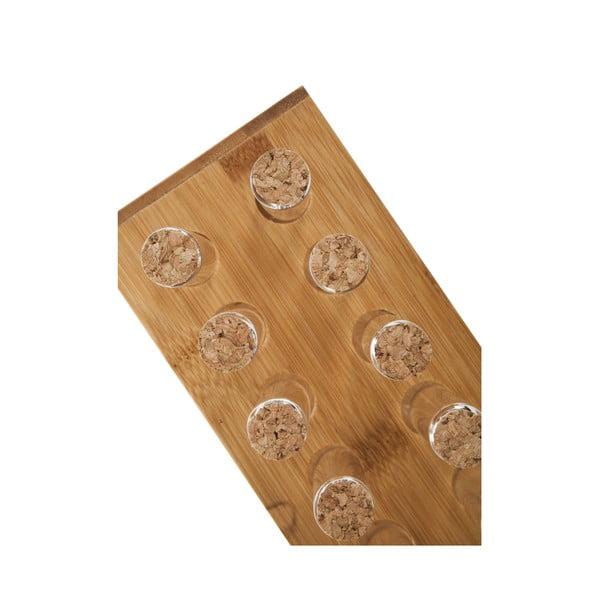 Stojak bambusowy z 12 probówkami na przyprawy Bambum Vanilla