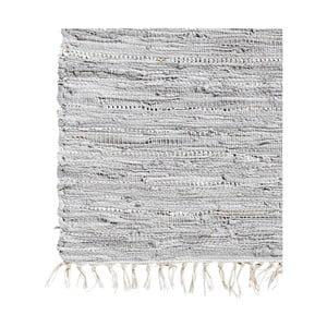 Skórzany dywan Nordal 75x150 cm, szary