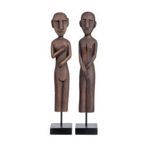 Zestaw 2 figurek Maya, 10x10x55 cm
