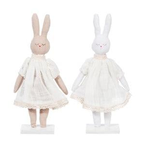 Zestaw 2 królików dekoracyjnych Rabbit