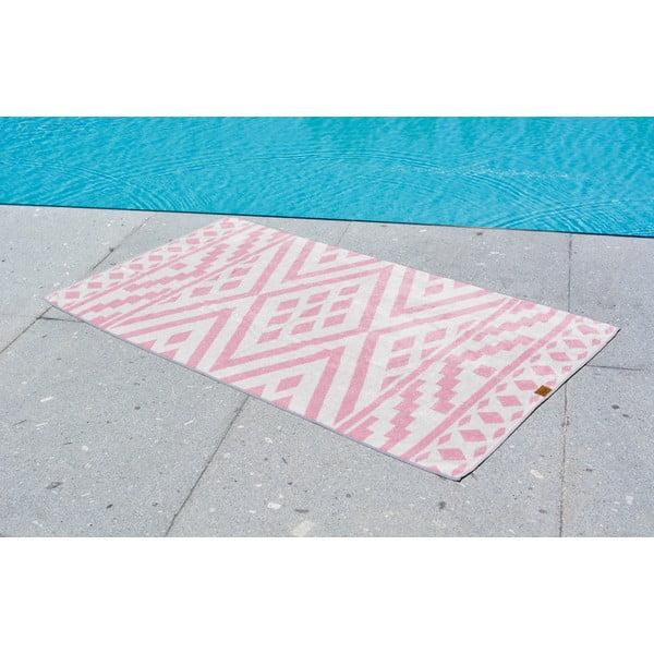 Ręcznik kąpielowy Hawke&Thorn Aztec, 90 x 160 cm
