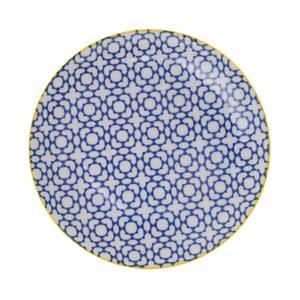 Porcelanowy talerz Geometric No4, 16x2,1 cm
