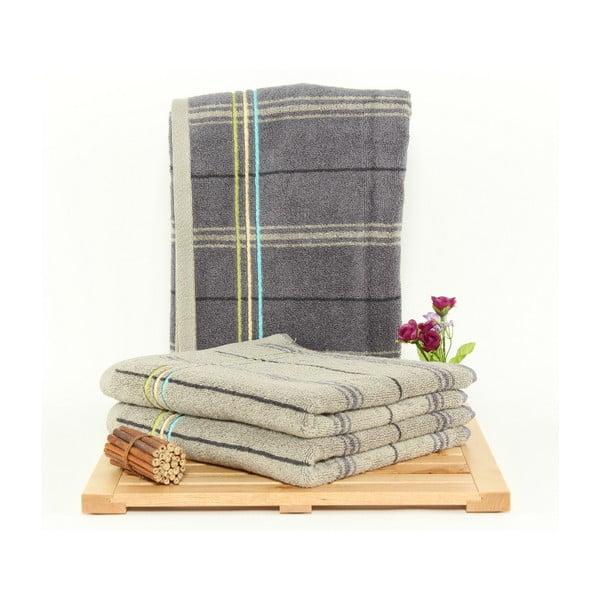 Zestaw 3 ręczników Gary Stone, 50x100 cm