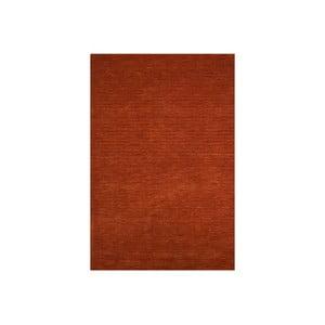 Wełniany dywan Millennium 160x230 cm, czerwona cegła