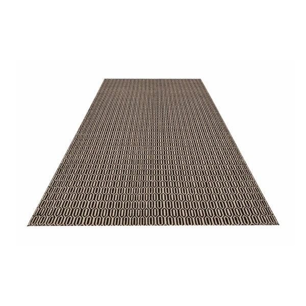 Ręcznie tkany dywan Brown Retro Kilim, 158x229 cm
