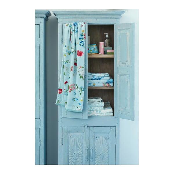 Niebieski ręcznik Pip Studio Hummingbirds, 55x100cm