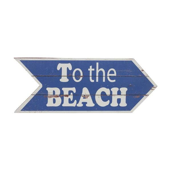 Tabliczka drewniana Artesania Esteban To The Beach