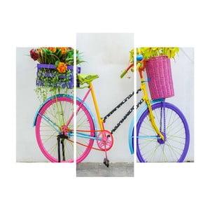 Trzyczęściowy obraz Bike