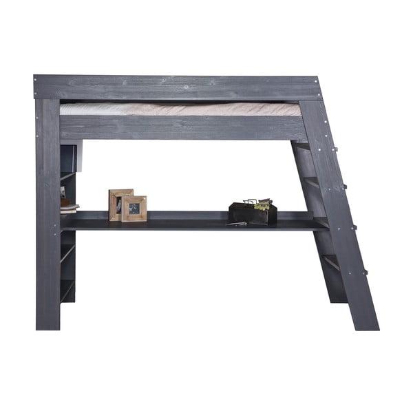Łóżko piętrowe z biurkiem Julien Steelgrey