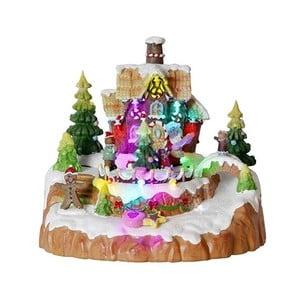 Świecąca dekoracja Gingerbread House