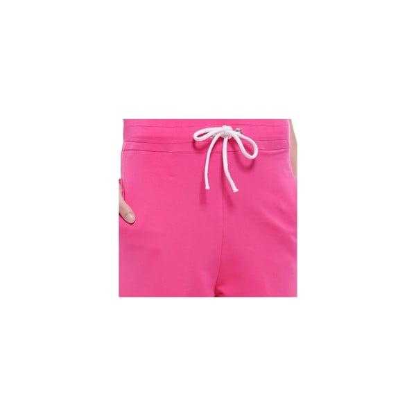 Kombinezon po domu bez rękawów Summer Pink, M