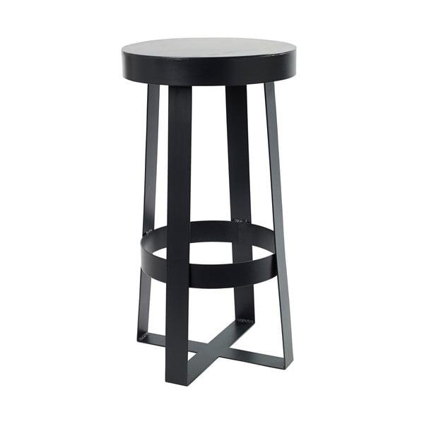Czarny stołek Serax Snello