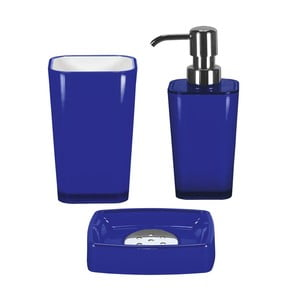 Zestaw akcesoriów łazienkowych Easy Dark Blue