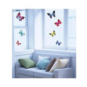 Naklejka Ambiance Exotic Butterflies, 26 szt.