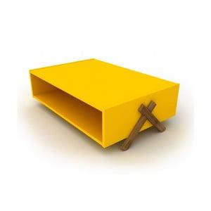 Żółty stolik Rafevi Tars