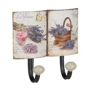 Zestaw 2 metalowych wieszaków Lavender