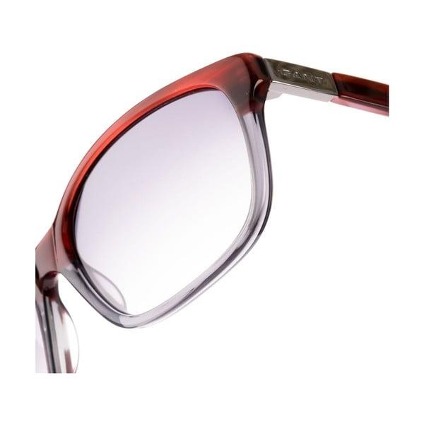 Damskie okulary przeciwsłoneczne GANT Red Crystal Grey