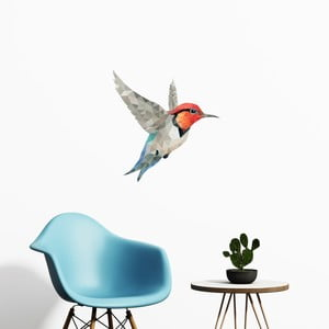 Naklejka Fanastick Origami Colibri