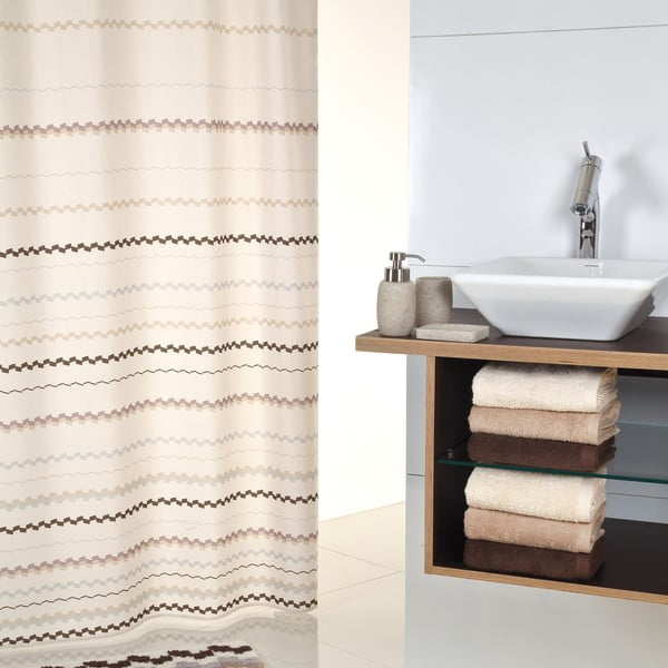 Zasłona prysznicowa Sorema Terra, 180x200 cm
