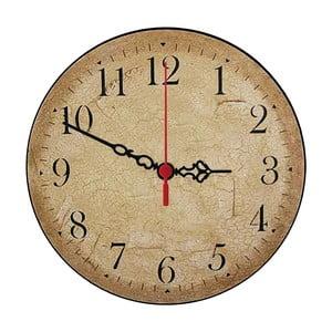 Zegar ścienny Beige Times, 30 cm