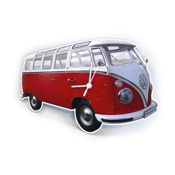 Zegar VW Camper Red
