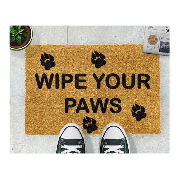 Wycieraczka Artsy Doormats Wipe Your Paws, 40x60 cm
