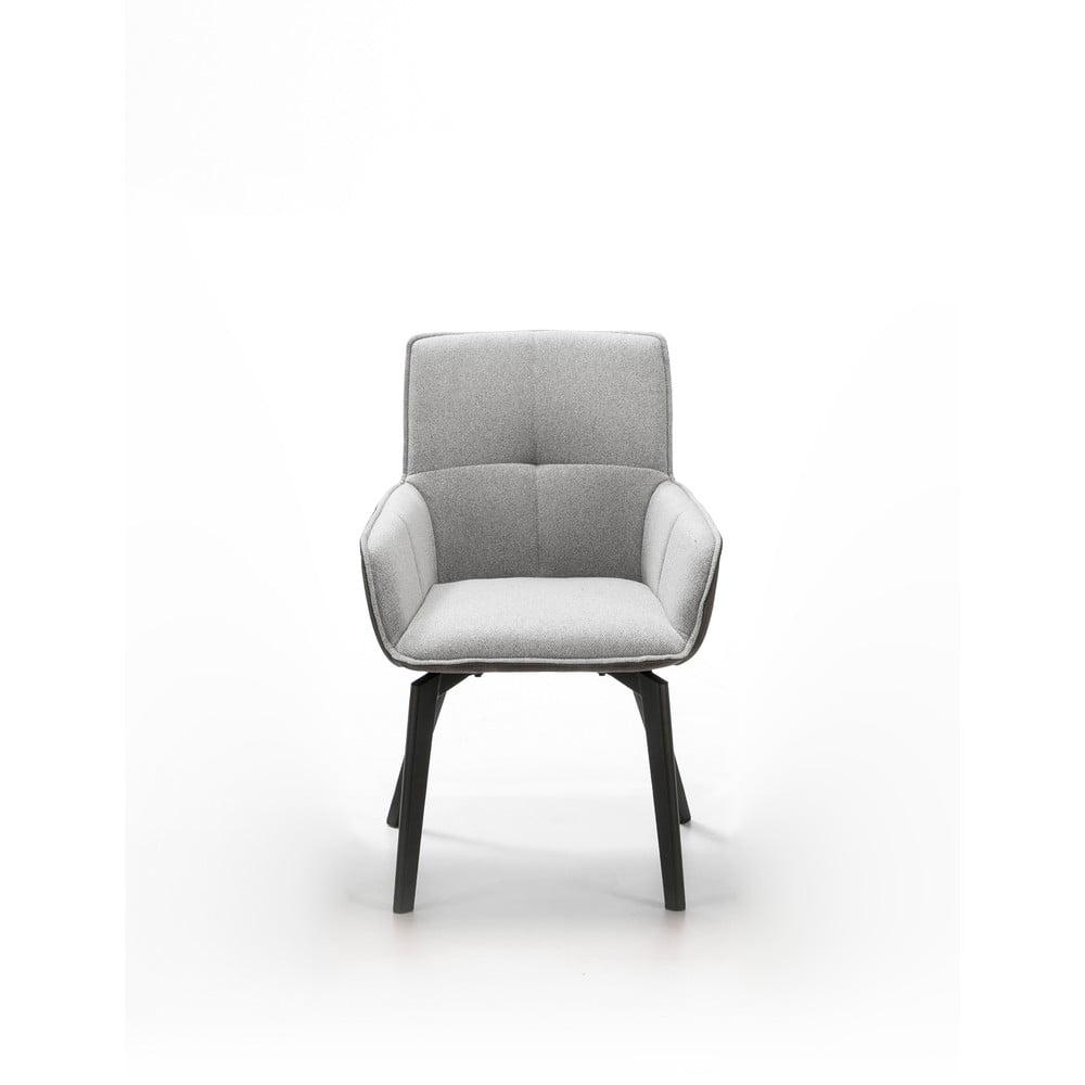 Szare krzesło Marckeric Malibu
