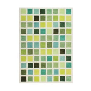 Zielony dywan Flair Rugs Illusion Abstract Blocks, 120x170 cm