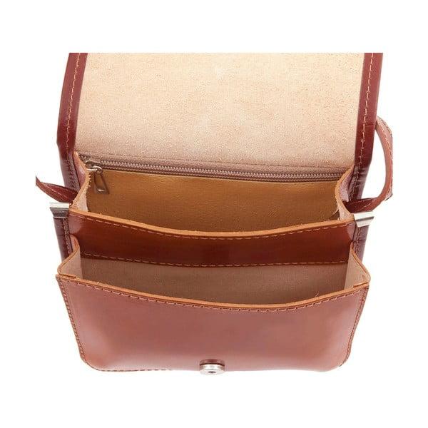 Skórzana torebka Campagna, honey/brown