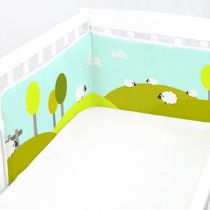 Ochraniacz do łóżeczka Little Sheep, 60x60x60 cm