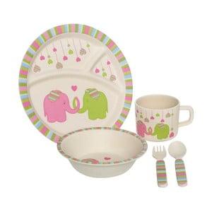 Dziecięcy zestaw naczyń Premier Housewares Elephant, 5 sztuk