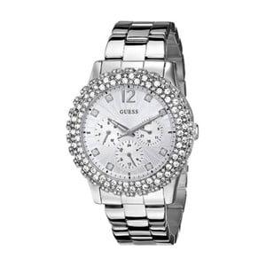 Zegarek damski w srebrnym kolorze z paskiem ze stali nierdzewnej Guess W0335L1