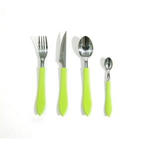 Zestaw sztuców Green, 24 sztuki