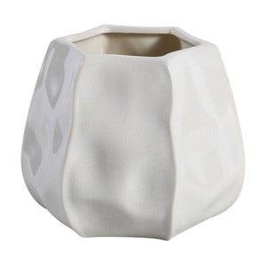 Doniczka Liam 13 cm, biała