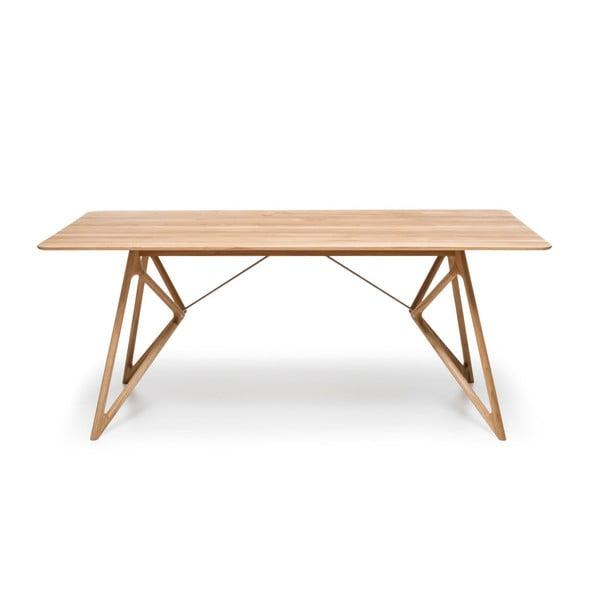 Stół dębowy do jadalni Tink Oak Gazzda, 180cm, naturalny