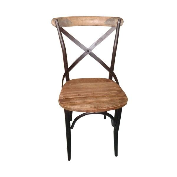 Krzesło metalowe Chaise Ouvert