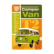 Tabliczka blaszana Camper Van, 20x30 cm