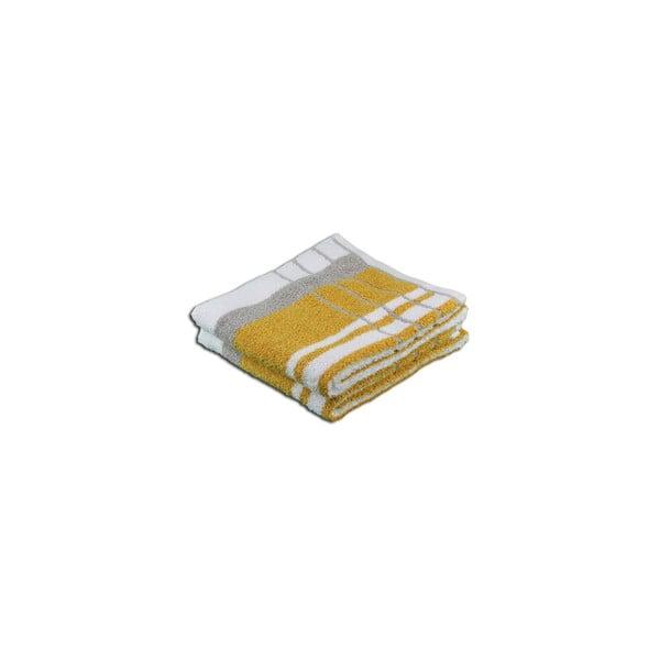 Ręcznik Berlin Taupe/Orange, 50x100 cm