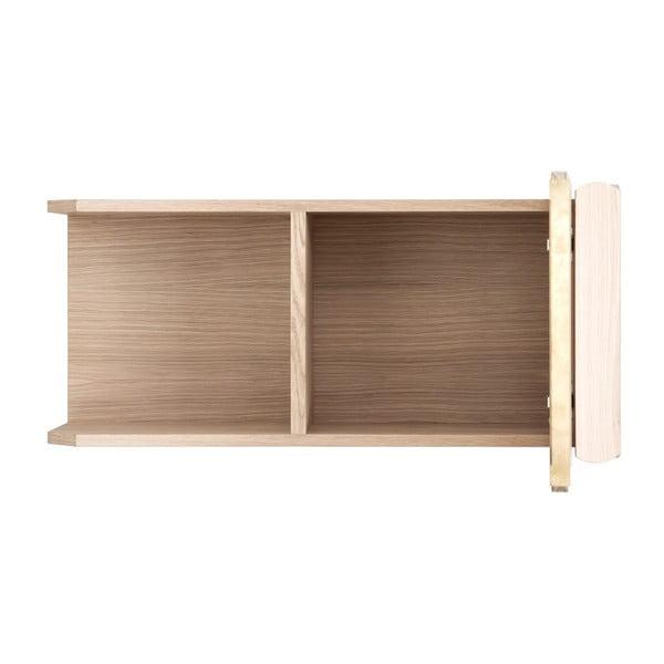 Półka z drewna bukowego HARTÔ, dł. 74 cm