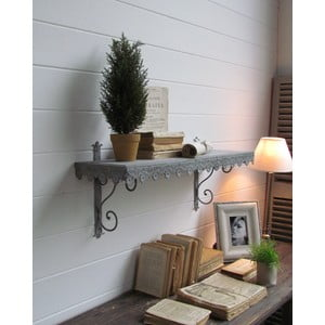 Półka naścienna Wall Antique Grey, 84 cm