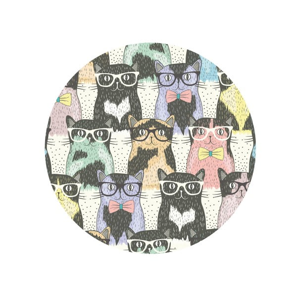 Stół do jadalni Cats In Glasses, 120 cm