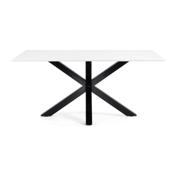Stół do jadalni Arya, 180x100cm, czarne lakierowane nogi